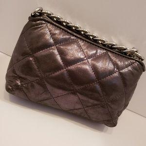 MICHAEL Michael Kors Bags - Michael Kors charcoal gray quilted mini bag